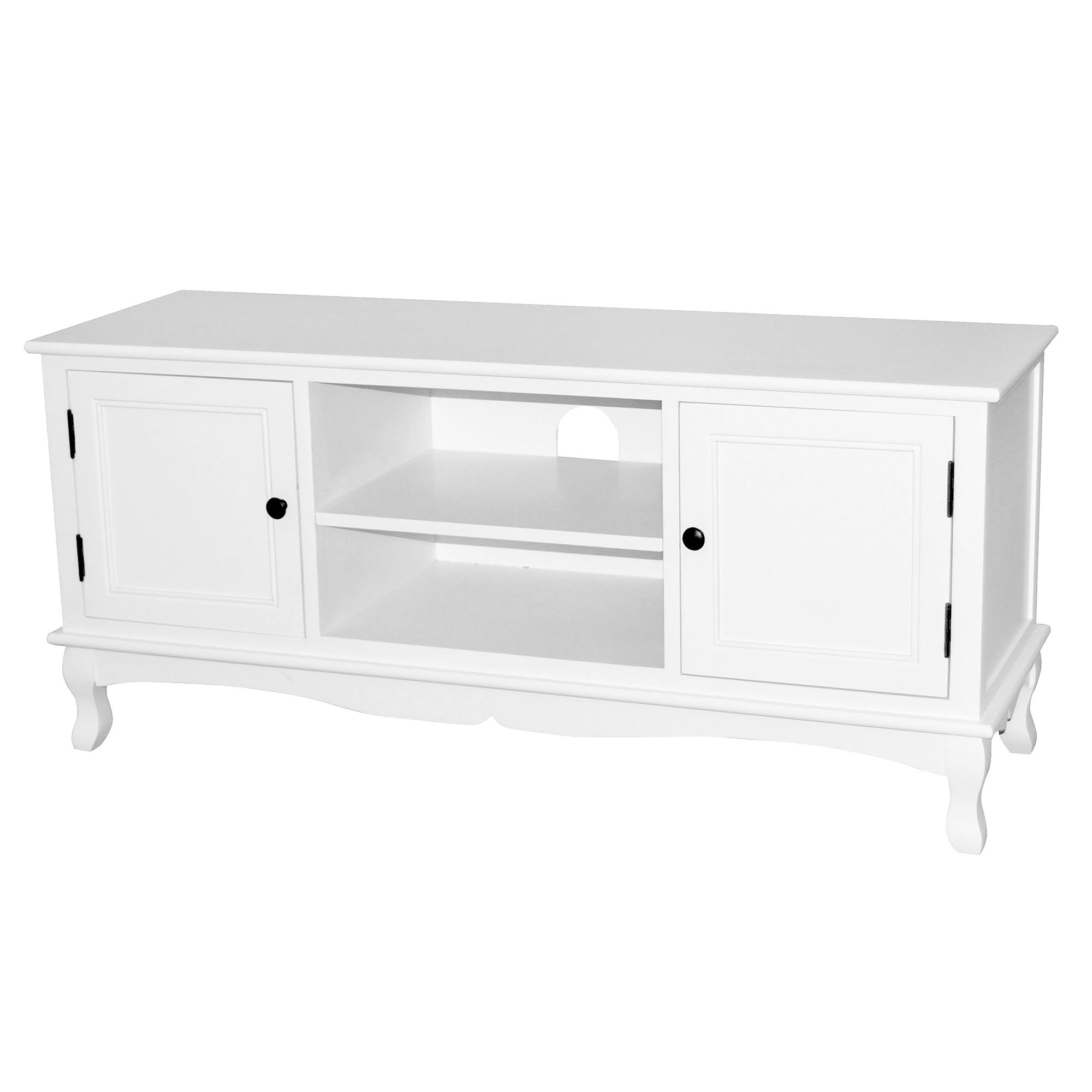 Bordeaux White TV Unit
