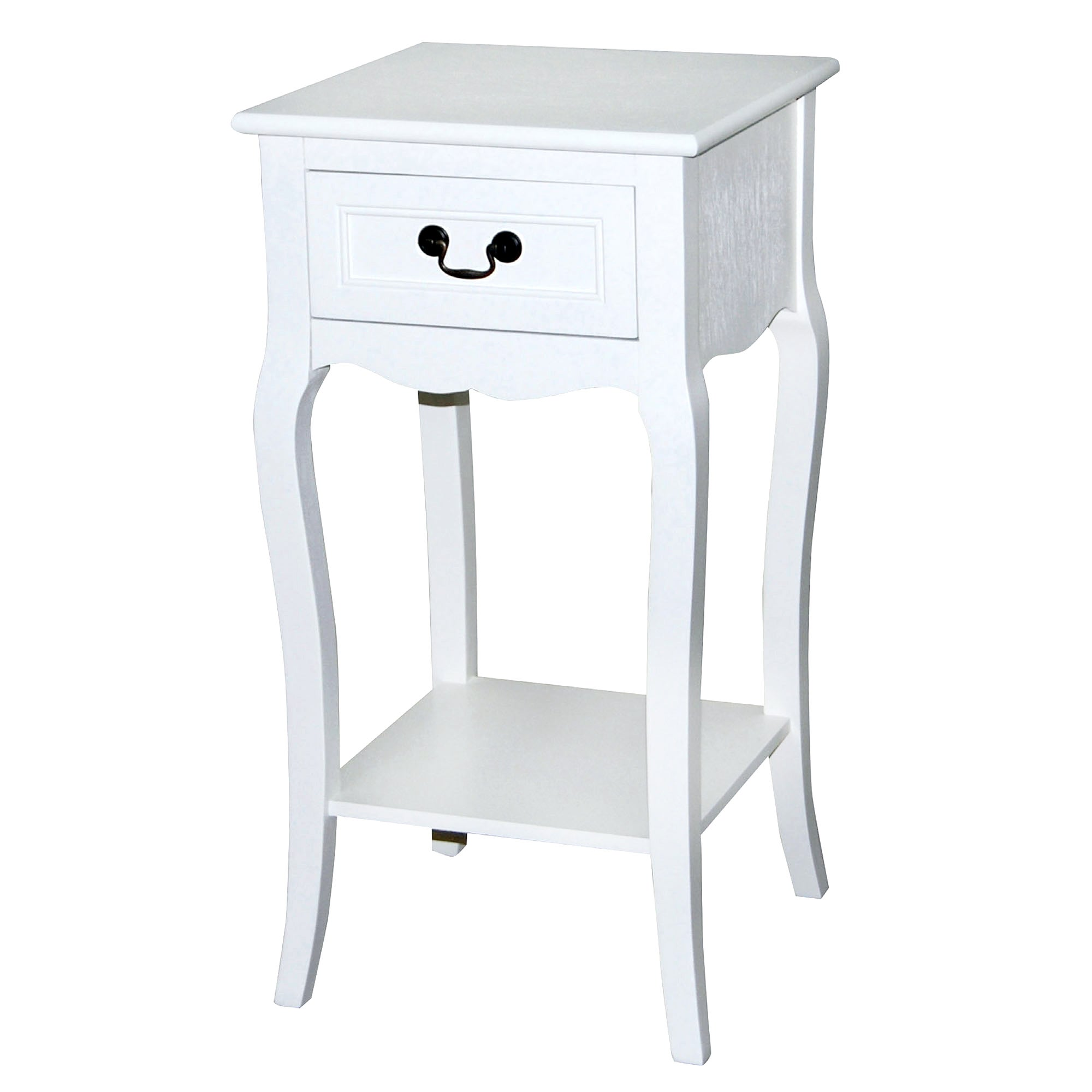 Bordeaux White Telephone Table