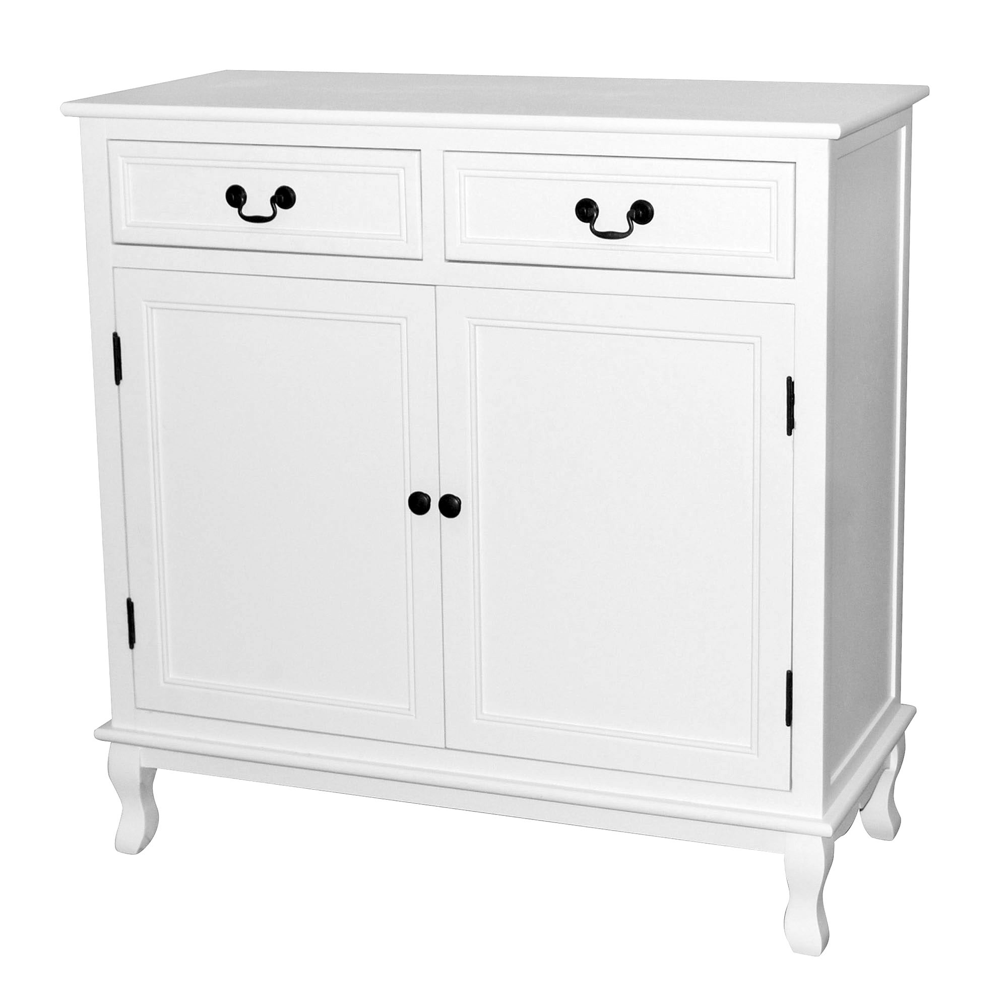 Bordeaux White Small Sideboard