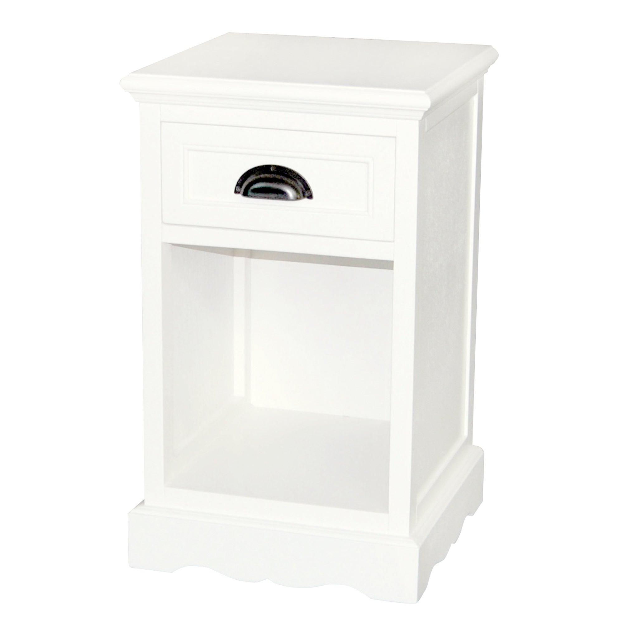 Georgia White Telephone Table