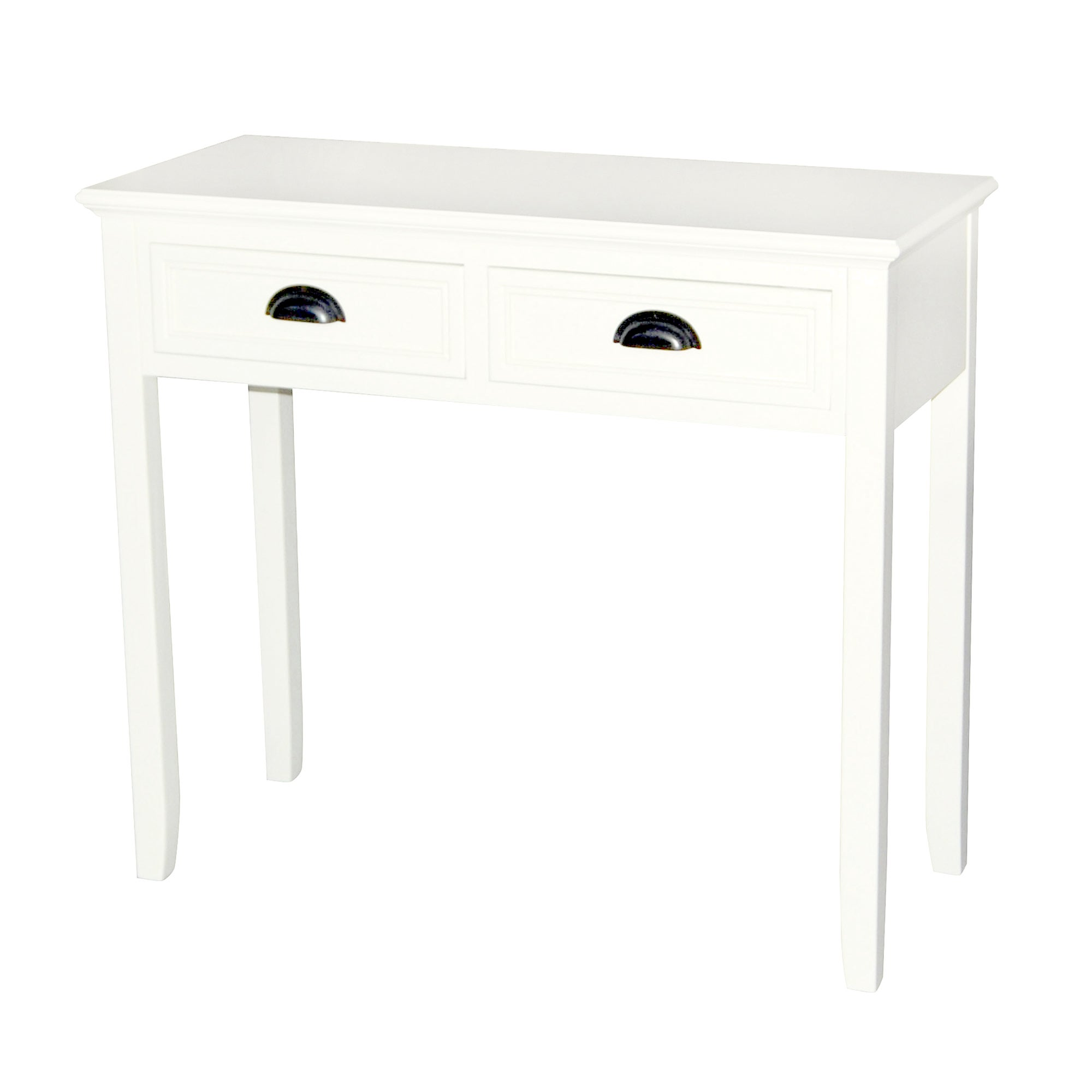 Georgia White Console Table