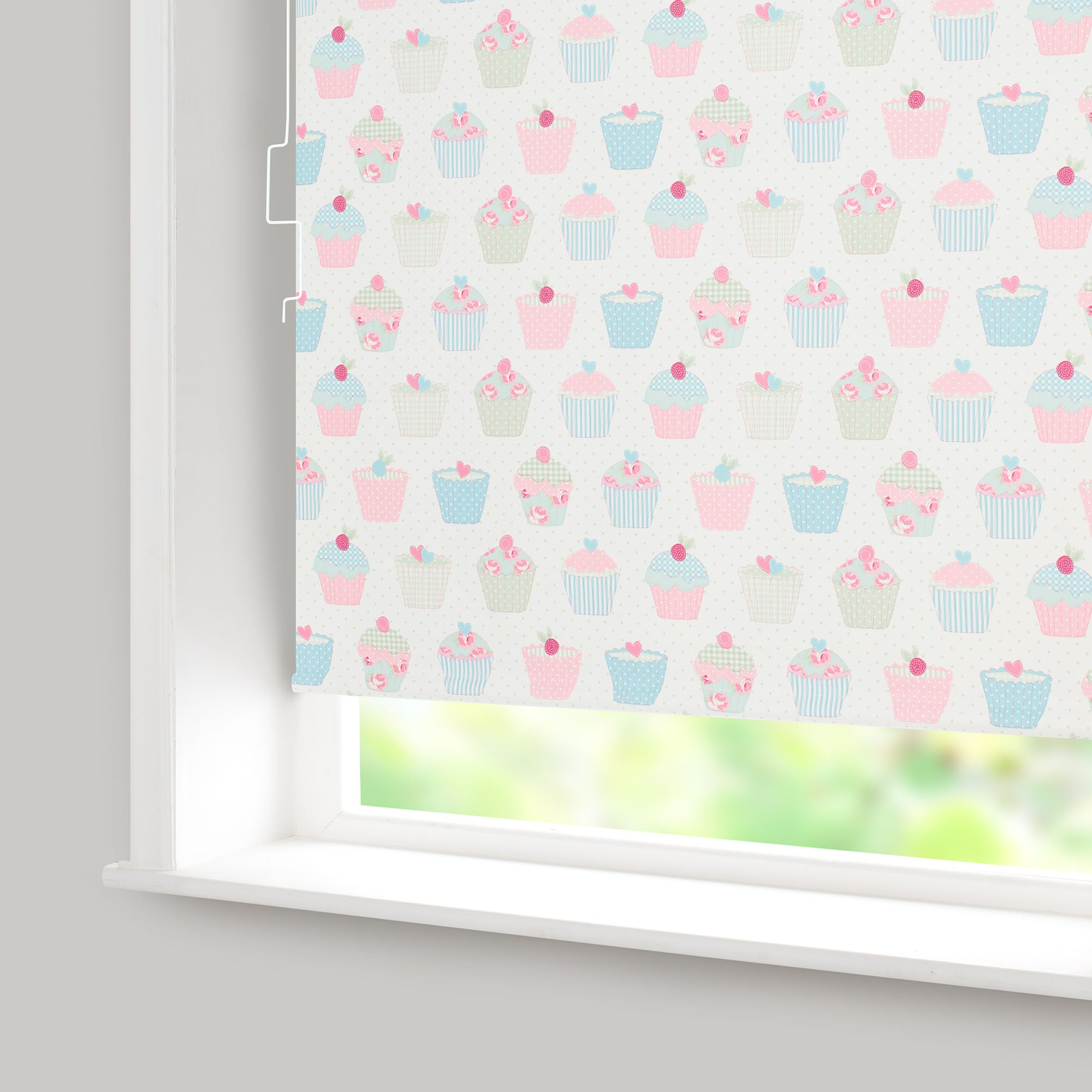 Cupcakes Blackout Cordless Roller Blind
