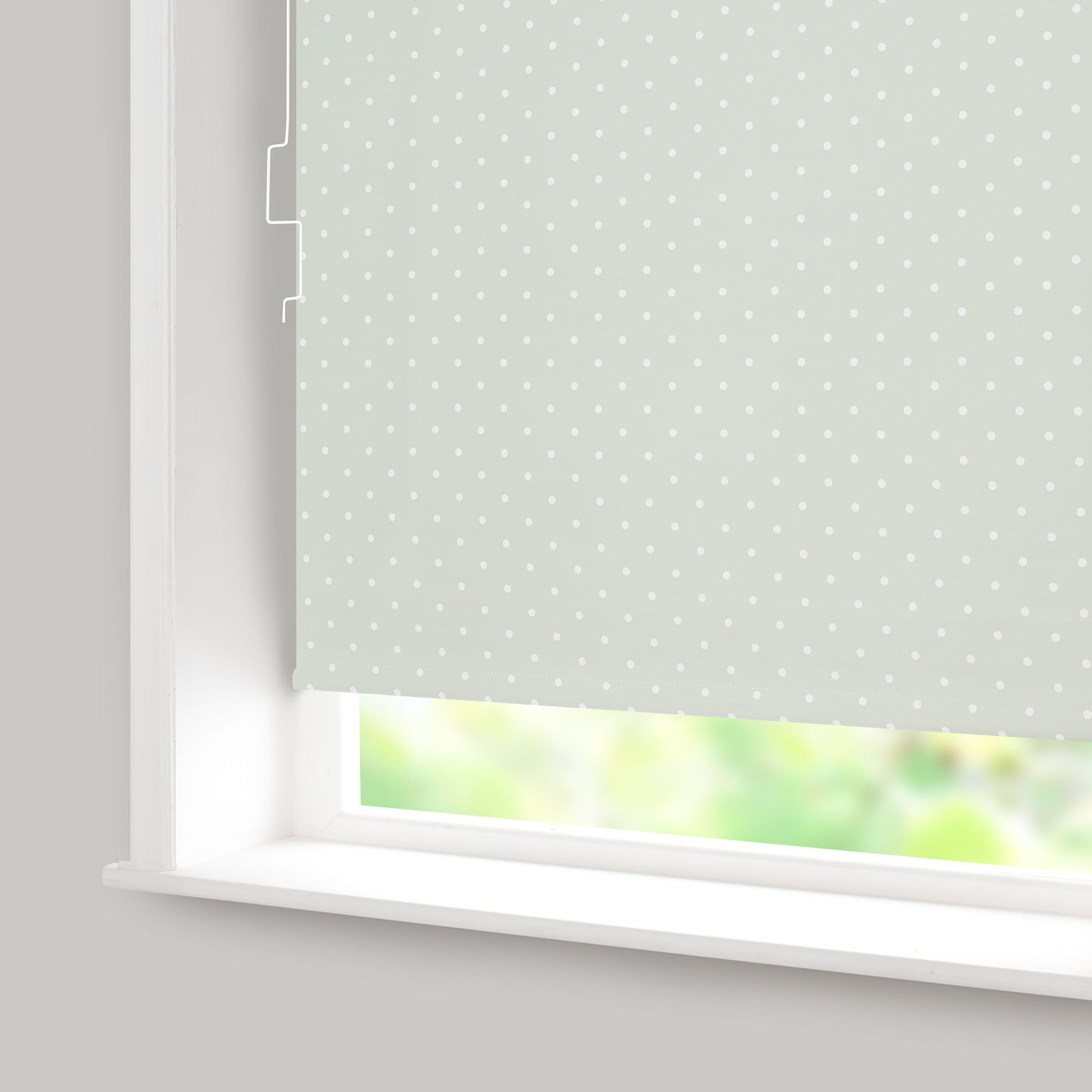 Dotty Blackout Cordless Roller Blind