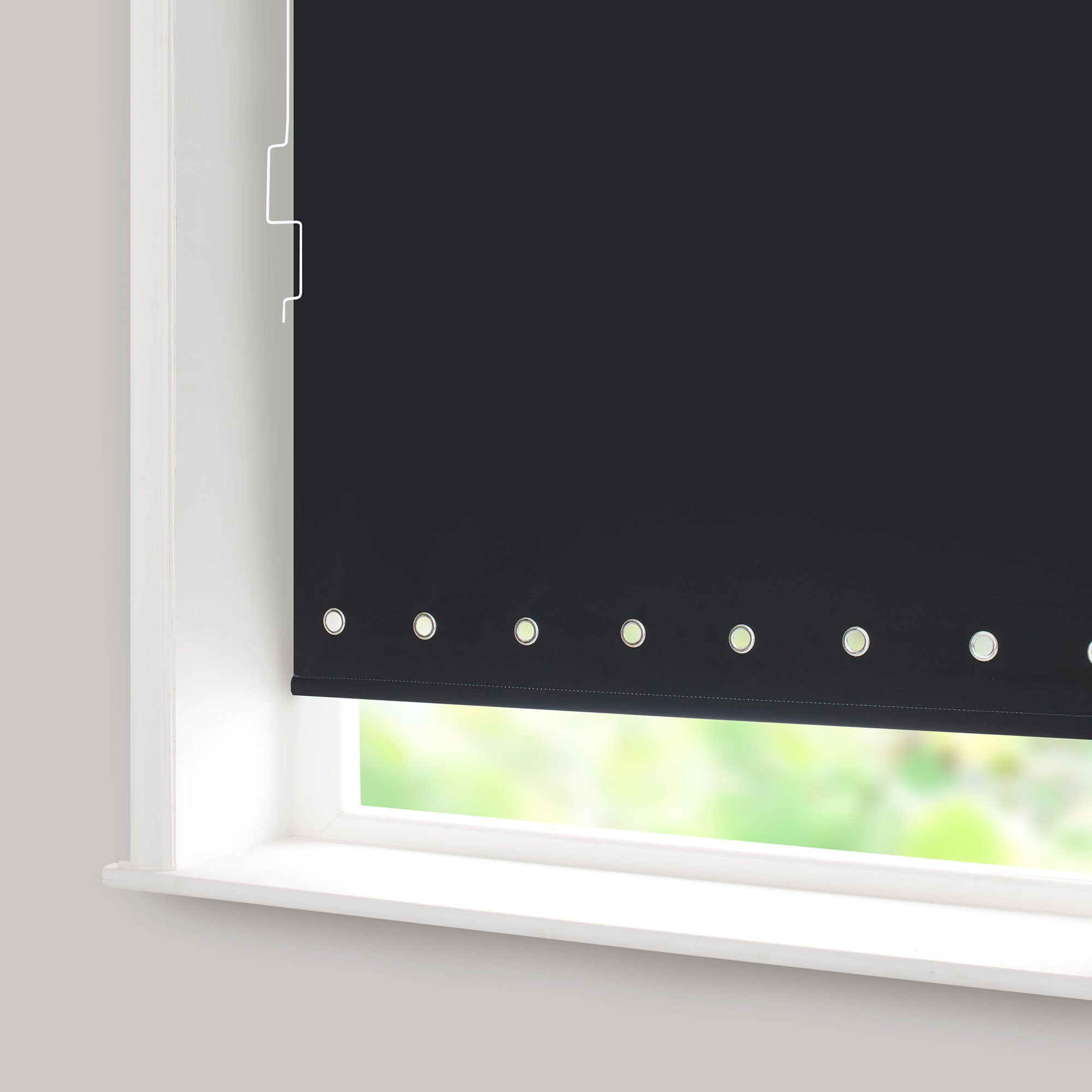 Eyelet Blackout Cordless Roller Blind