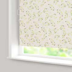 Country Leaf Blackout Cordless Roller Blind
