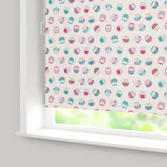 Owl Blackout Cordless Roller Blind