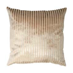 Cut Velvet Stripe Cushion