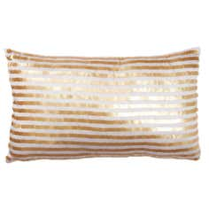 Linear Sequin Cushion