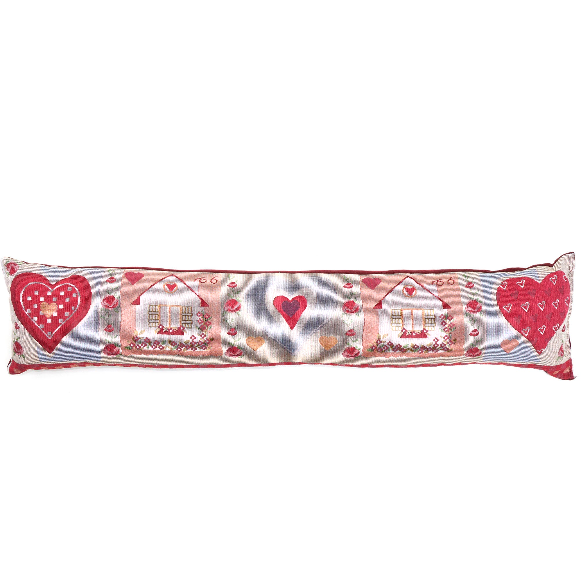 Hearts Tapestry Draught Excluder