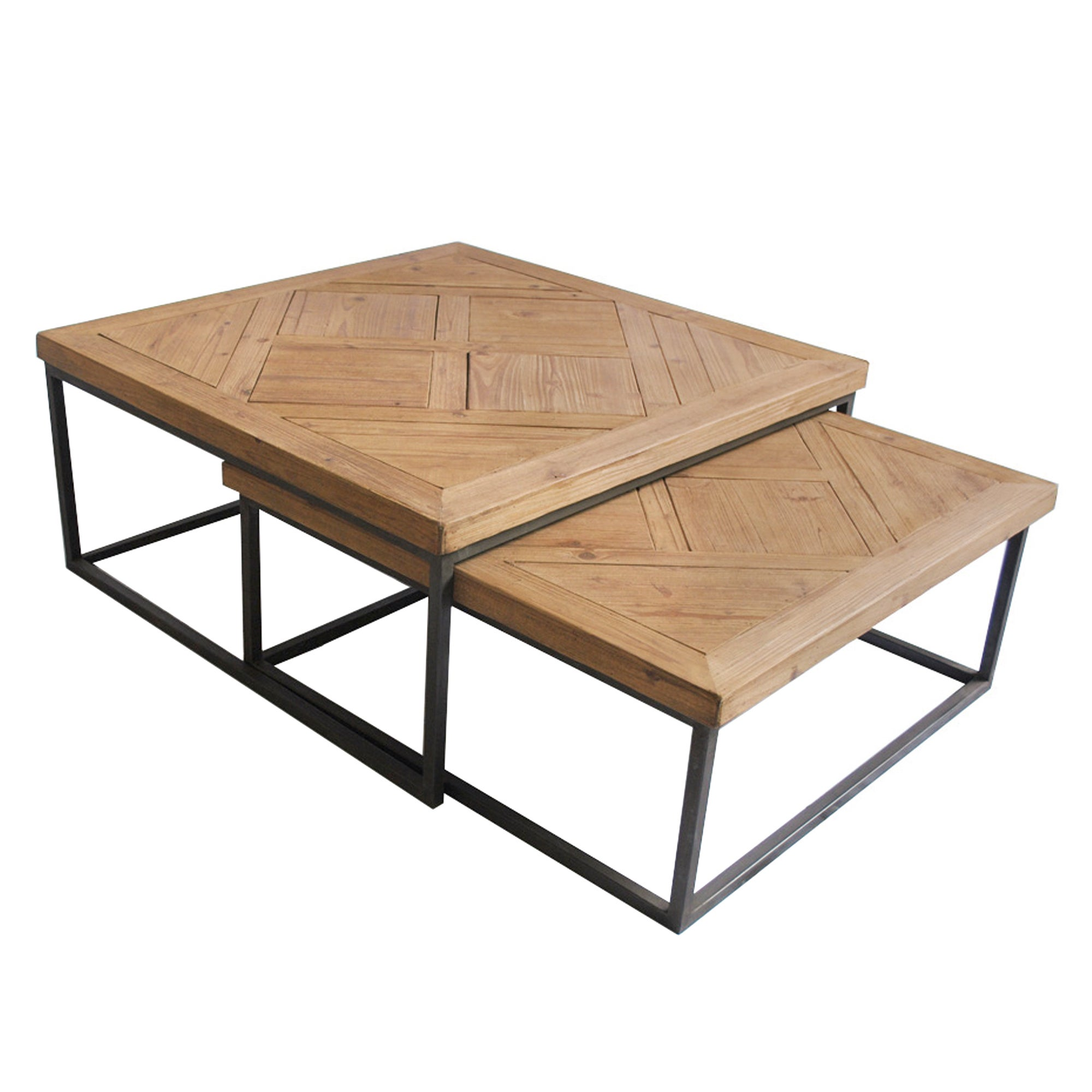 Spitalfields Set of 2 Coffee Tables