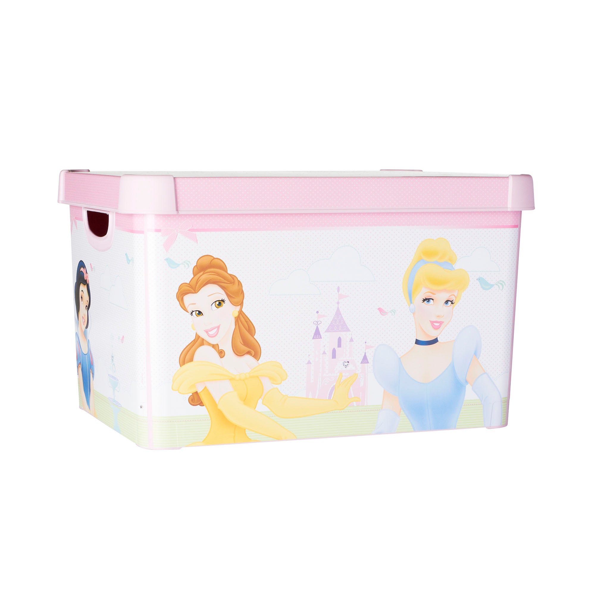 Kids Disney Princess 22L Storage Box