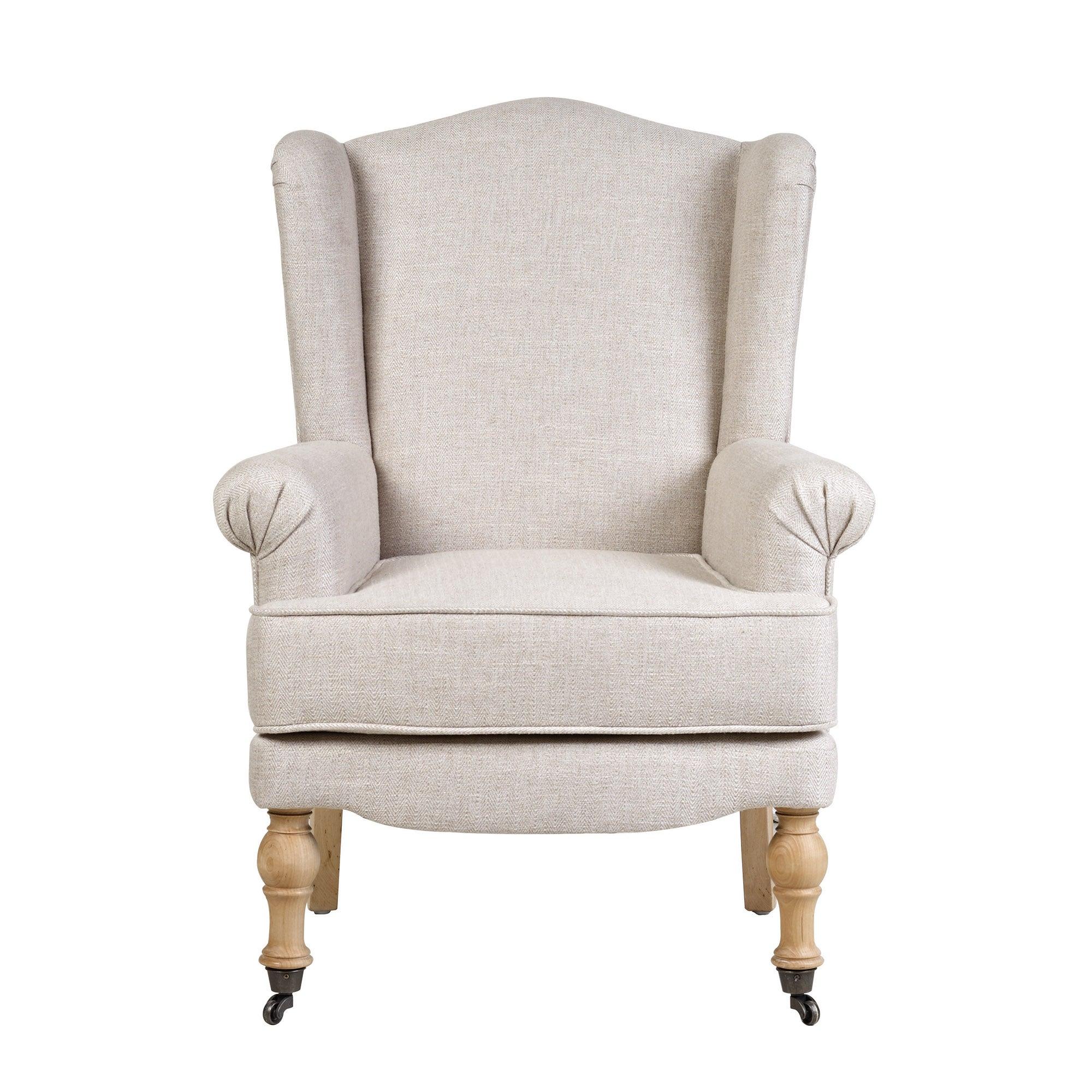 victoria wing back armchair dunelm. Black Bedroom Furniture Sets. Home Design Ideas