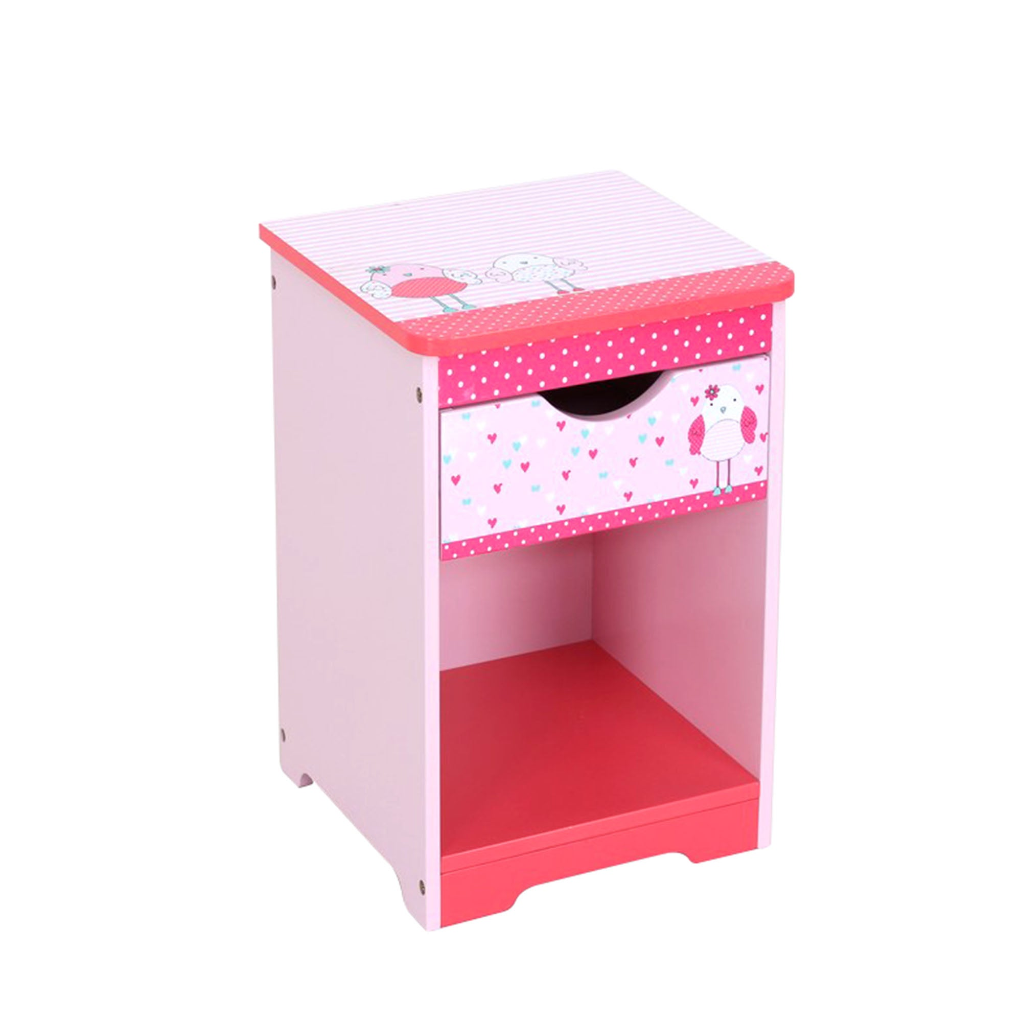 Kids Birdie Collection Bedside Table