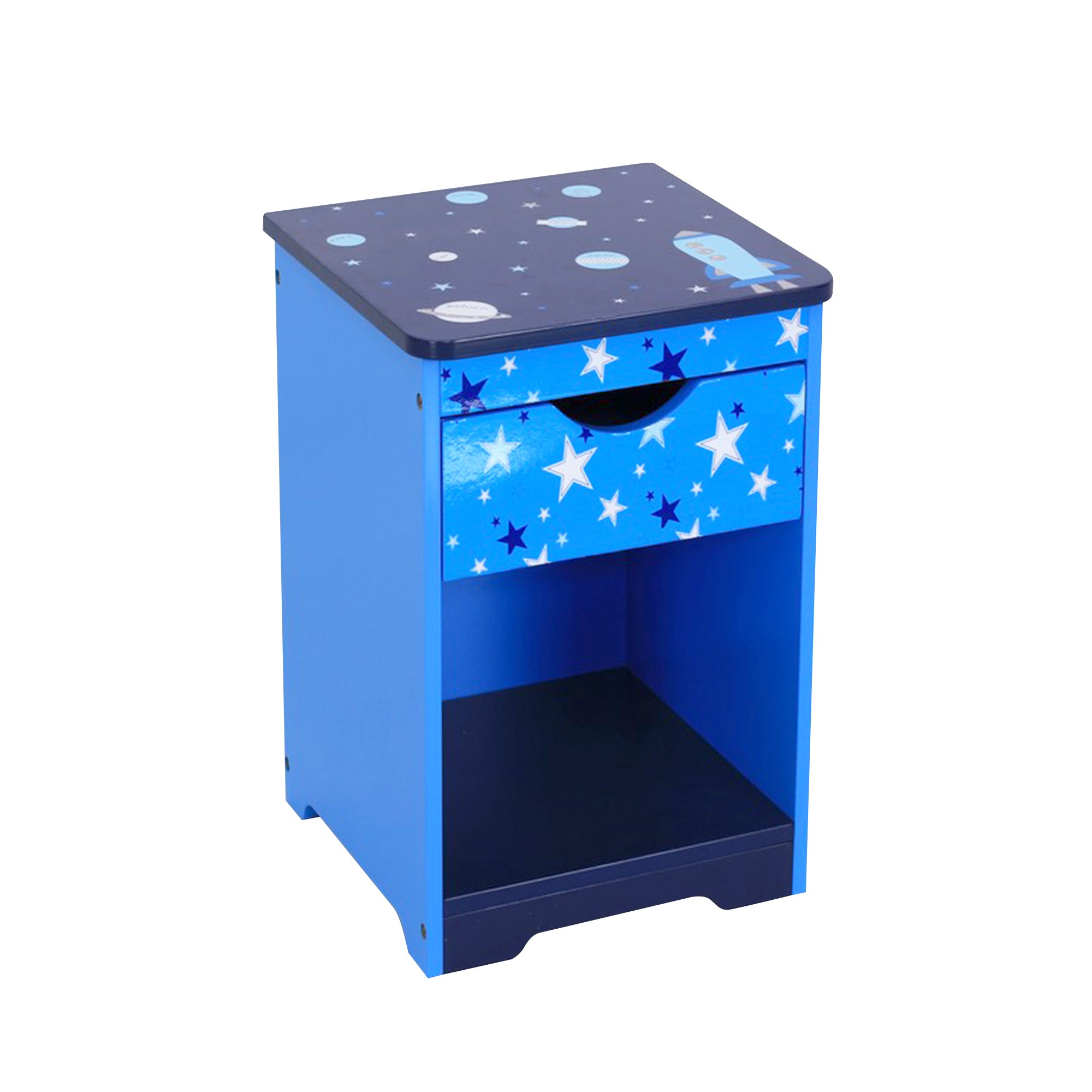 Kids Space Mission Collection Bedside Table