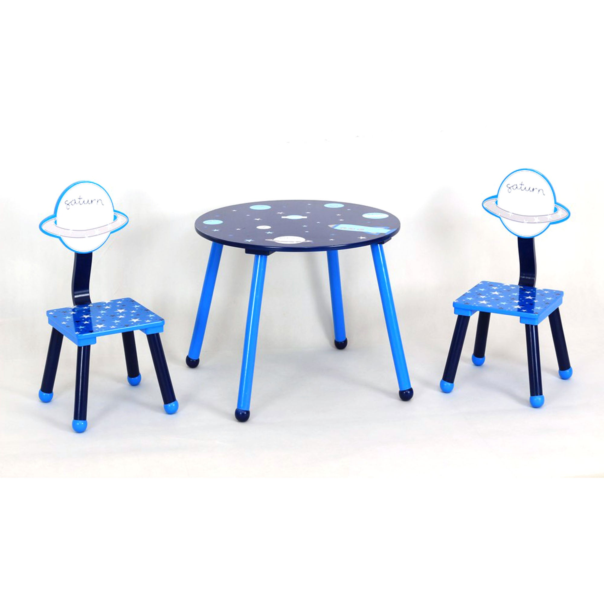 Kids Space Misson Collection Playtable and Chairs