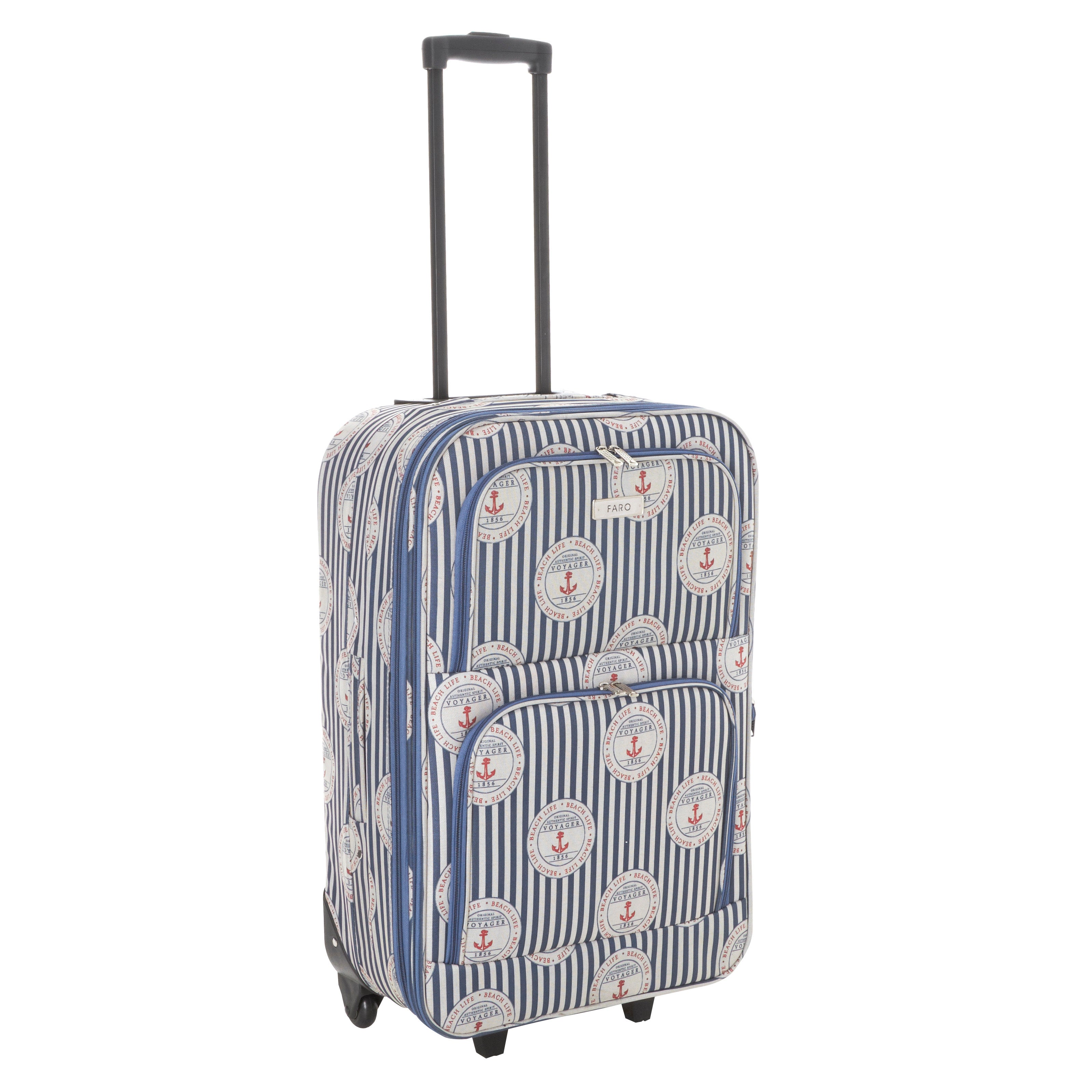 Faro Beach Life 28 Inch Large Family Suitcase