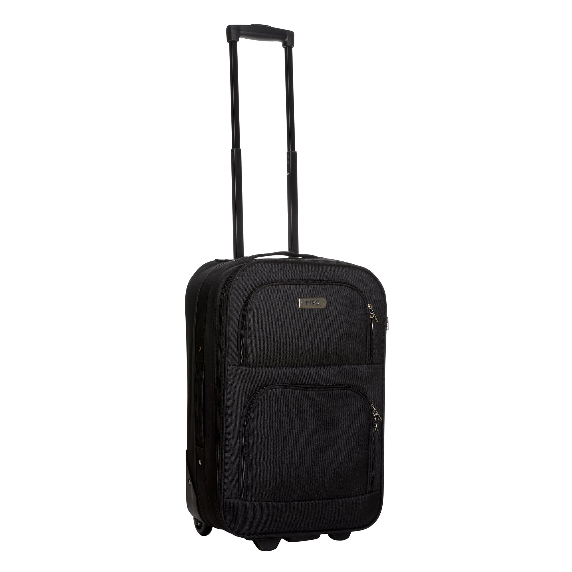 Faro Black 20 Inch Weekend Case
