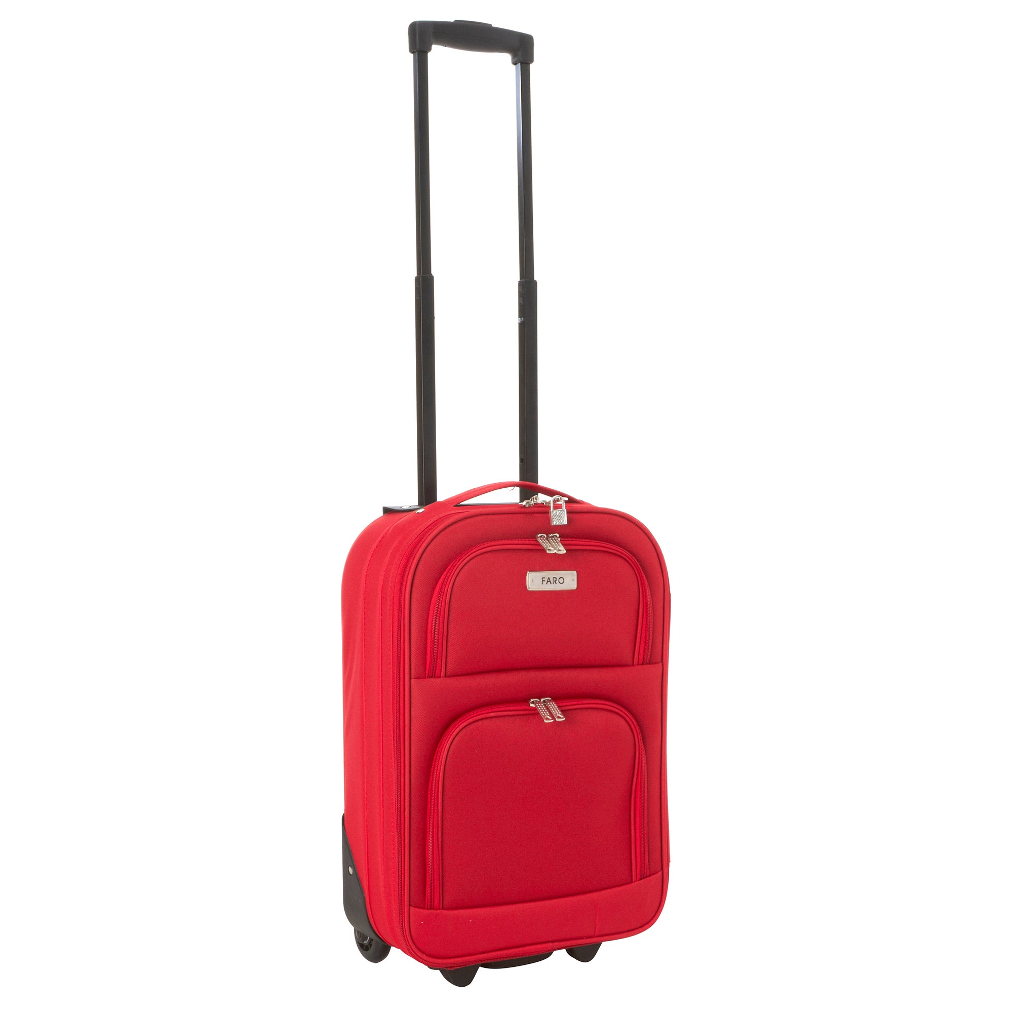 Faro Red 28 Inch Large Family Luggage Case