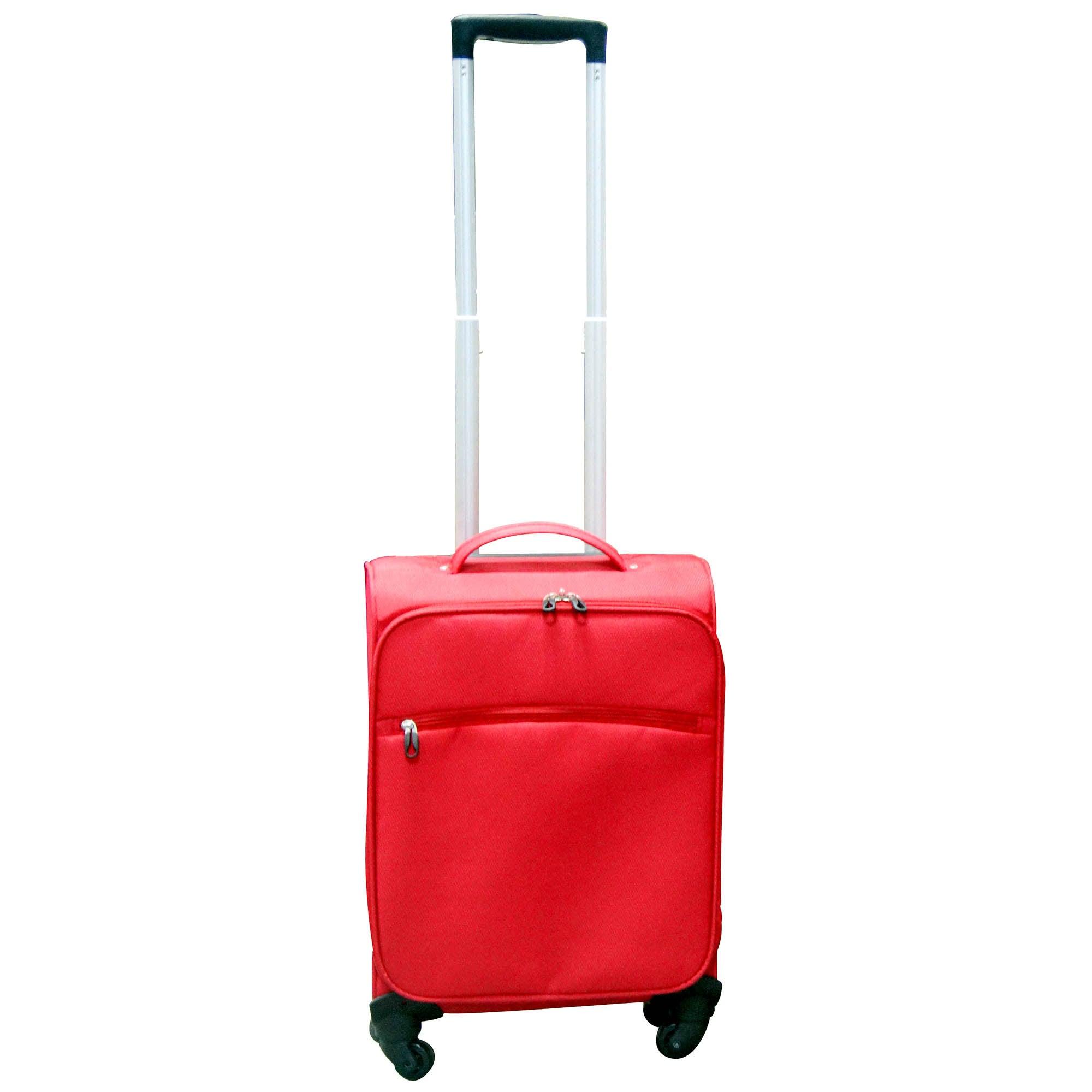 Red Lightweight 18 Inch Cabin Case