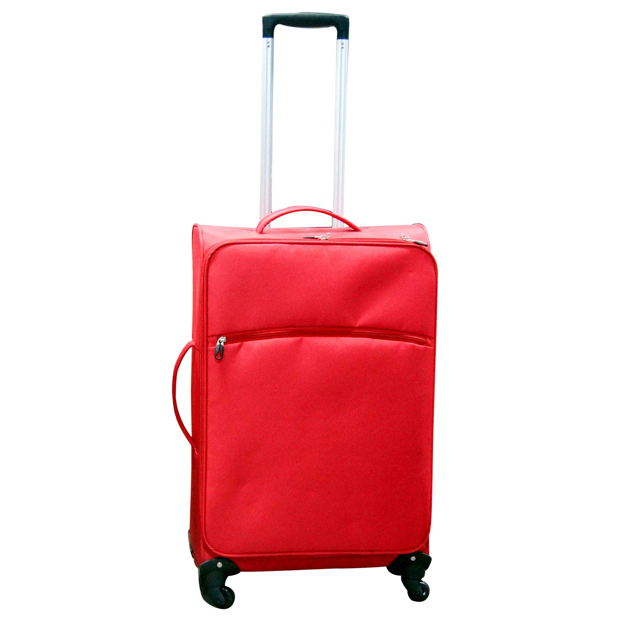 Red Lightweight 24 Inch Small Family Case
