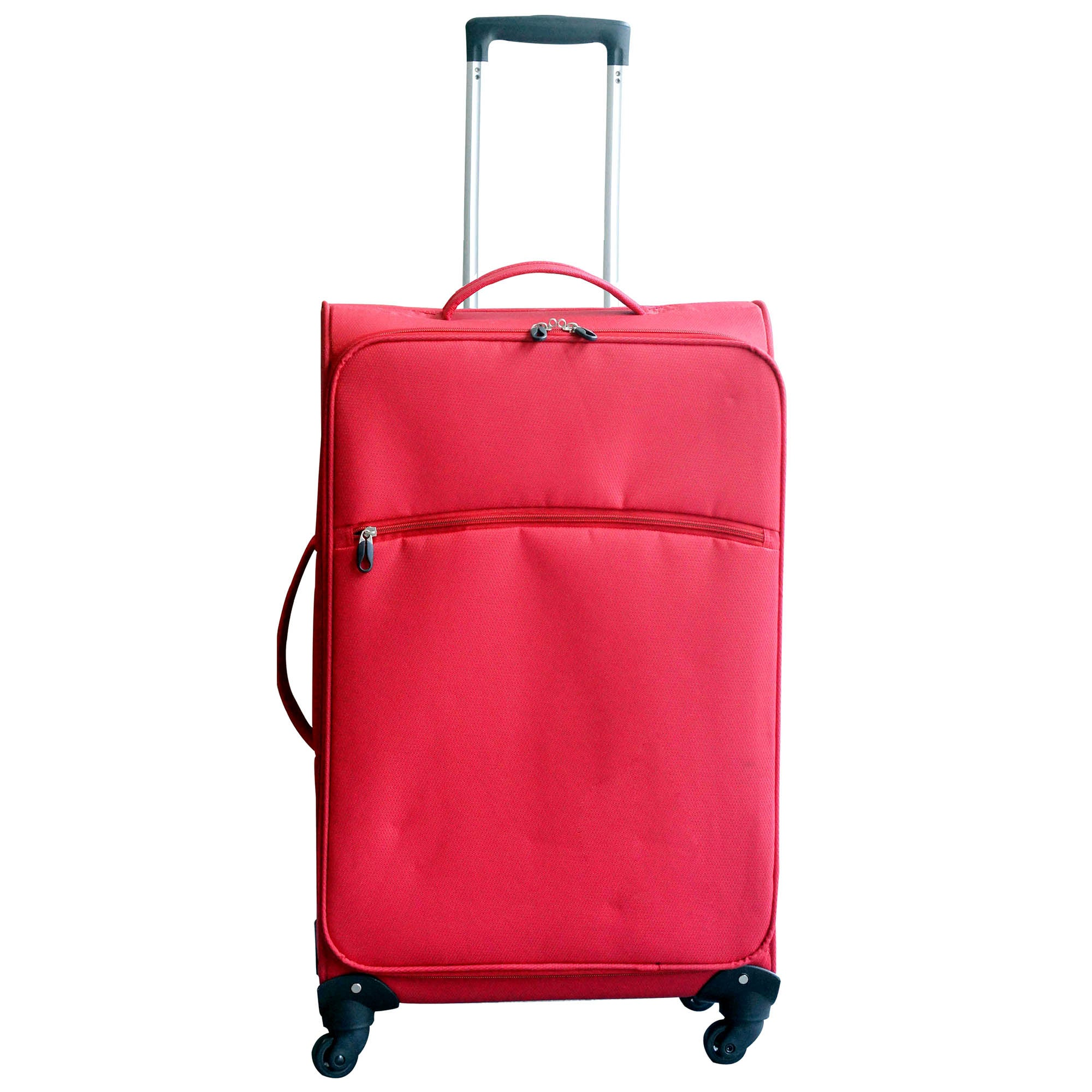 Red Lightweight 28 Inch Large Family Case