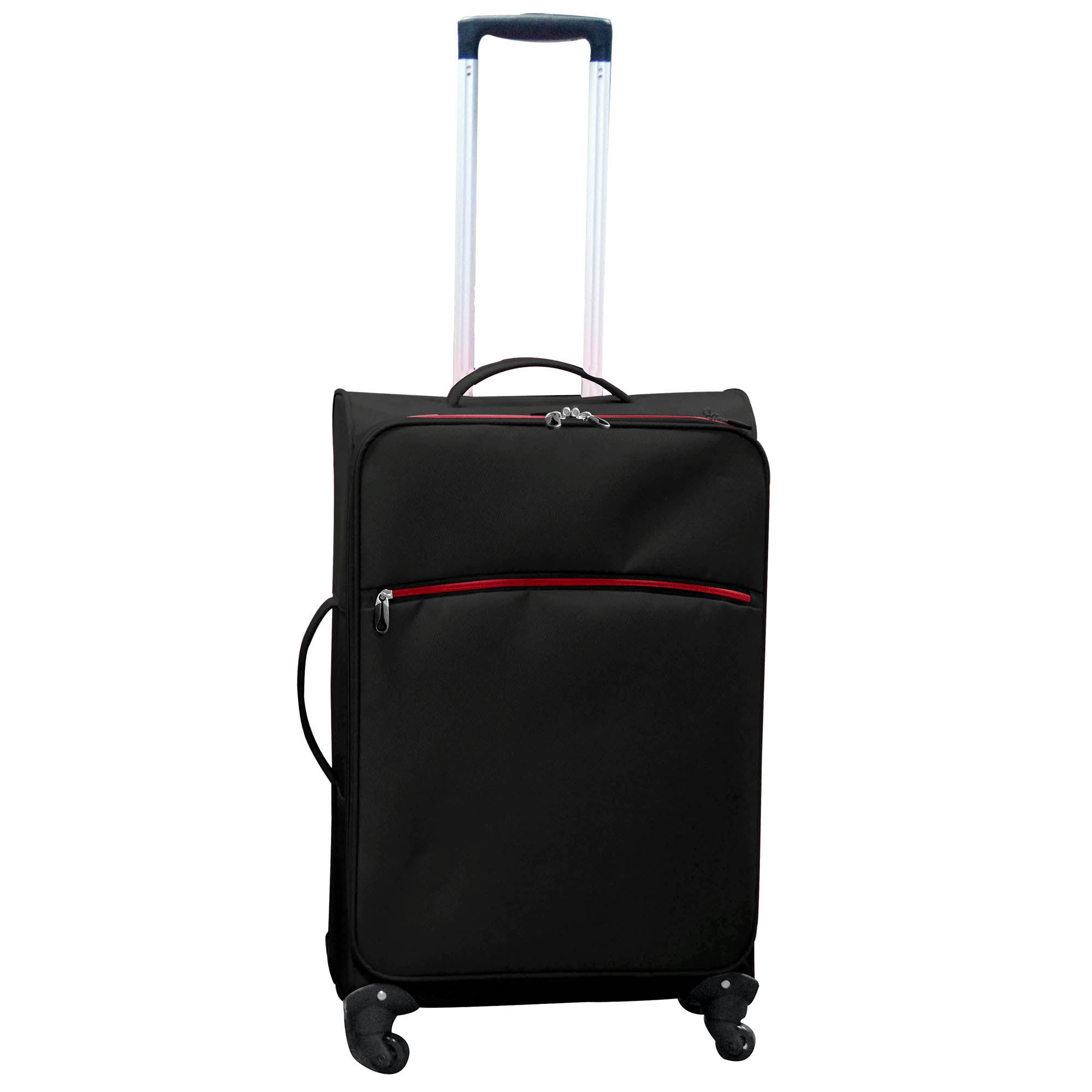 Black Lightweight 24 Inch Small Family Case