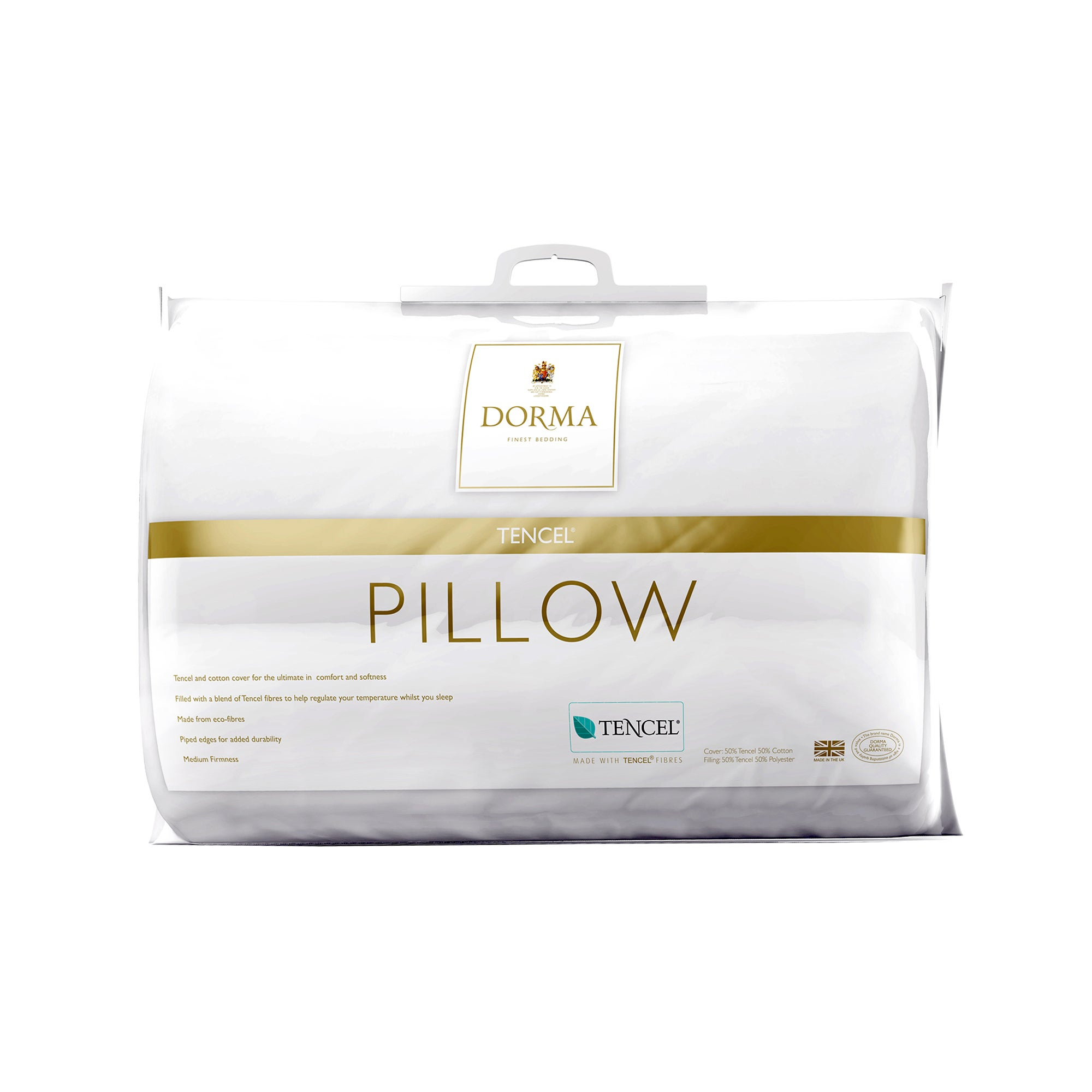 Dorma Tencel Medium Pillow