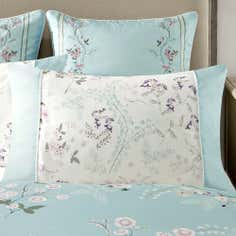 Dorma Duck Egg Maiya Collection Double Cuff Pillowcase