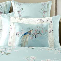 Dorma Duck Egg Maiya Collection Boudoir Cushion