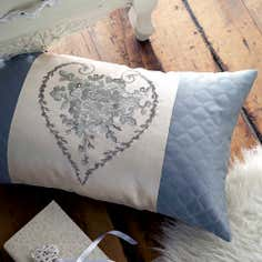 Duck Egg Beatrix Collection Boudoir Cushion