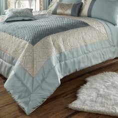 Duck Egg Beatrix Collection Bedspread