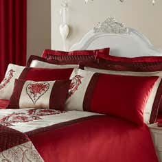 Red Beatrix Collection Oxford Pillowcase