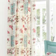 Duck Egg Maison Thermal Pencil Pleat Curtains