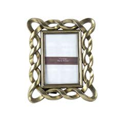 Gold Twisted Mini Photo Frame