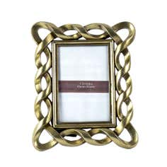 Gold Twisted Photo Frame