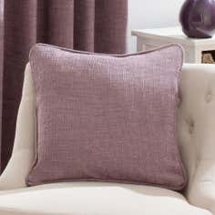 Mauve Lorenza Collection Cushion