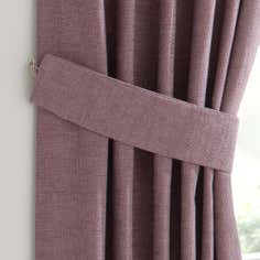 Mauve Lorenza Collection Tiebacks