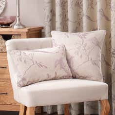 Mauve Songbird Collection Cushion