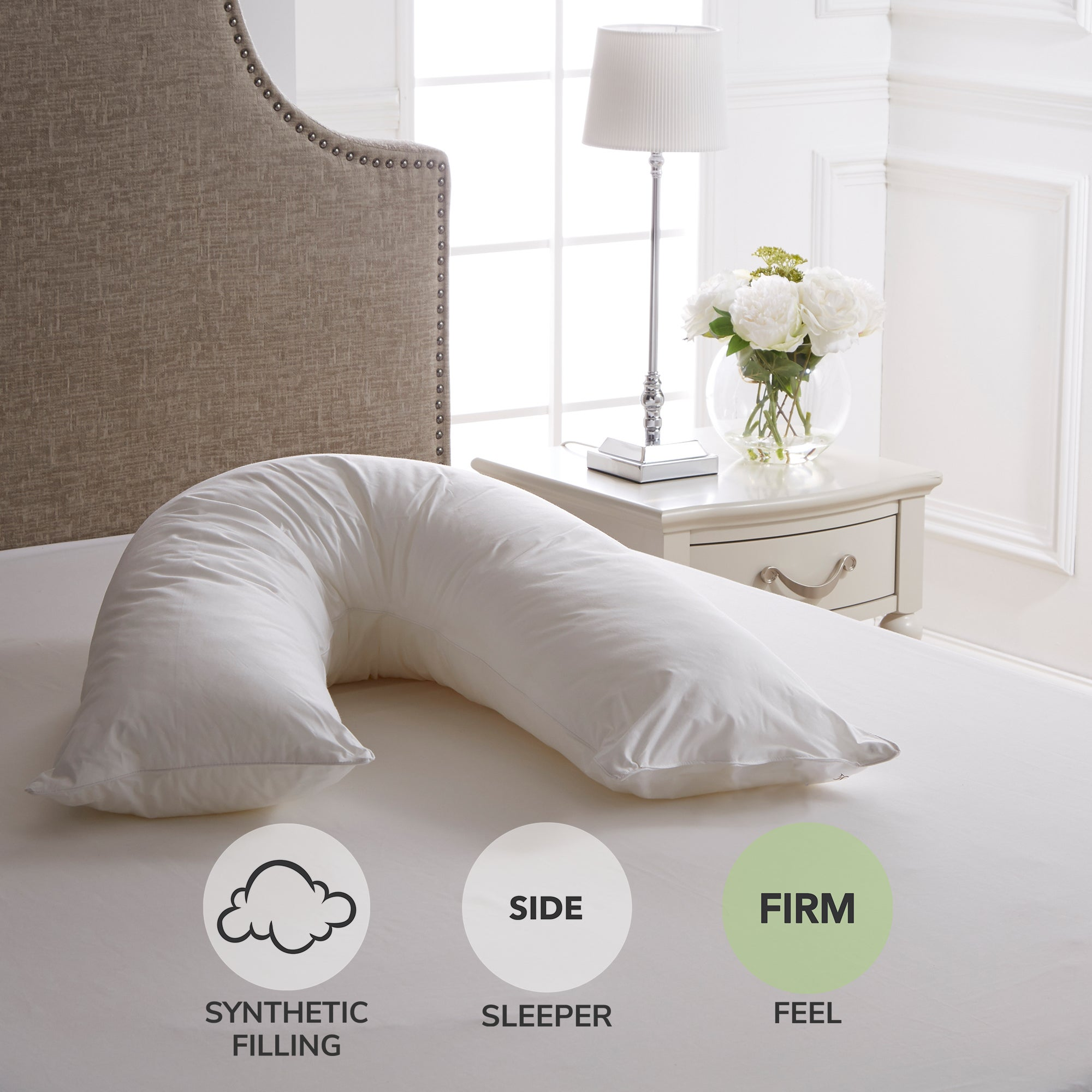 Dorma Full Forever V Shape Pillow