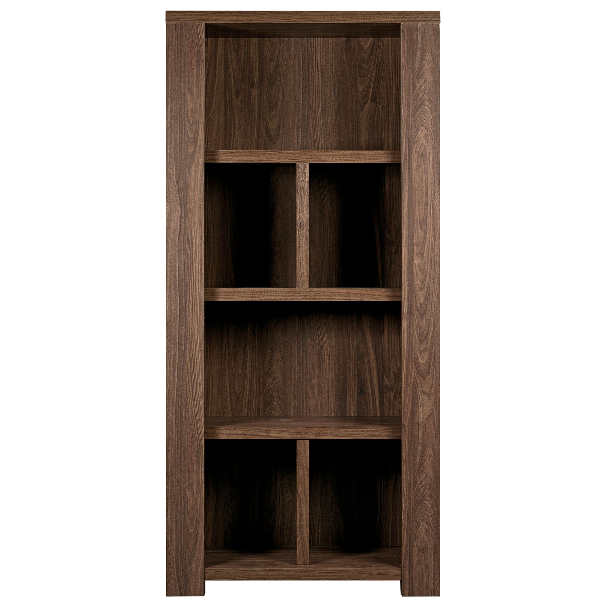 York Walnut Collection Bookcase