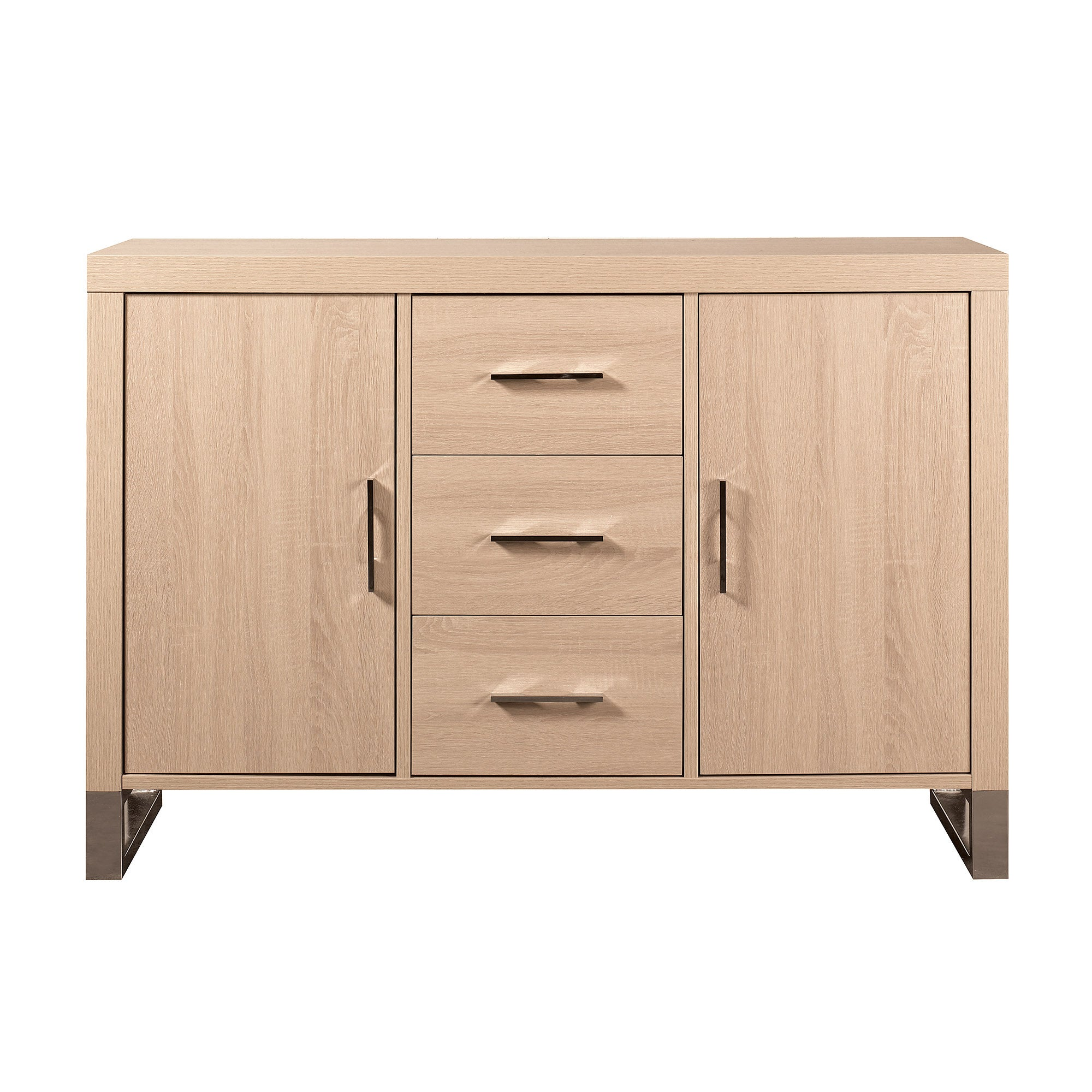 Manhattan Collection Oak Effect Large Sideboard