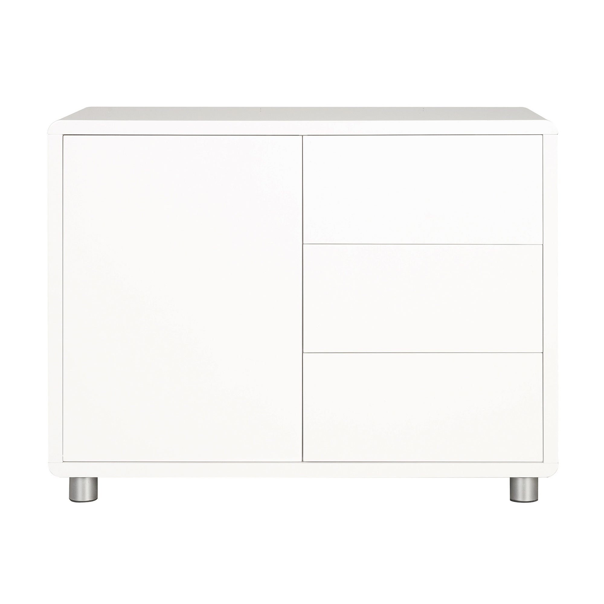 Soho White Gloss Small Sideboard