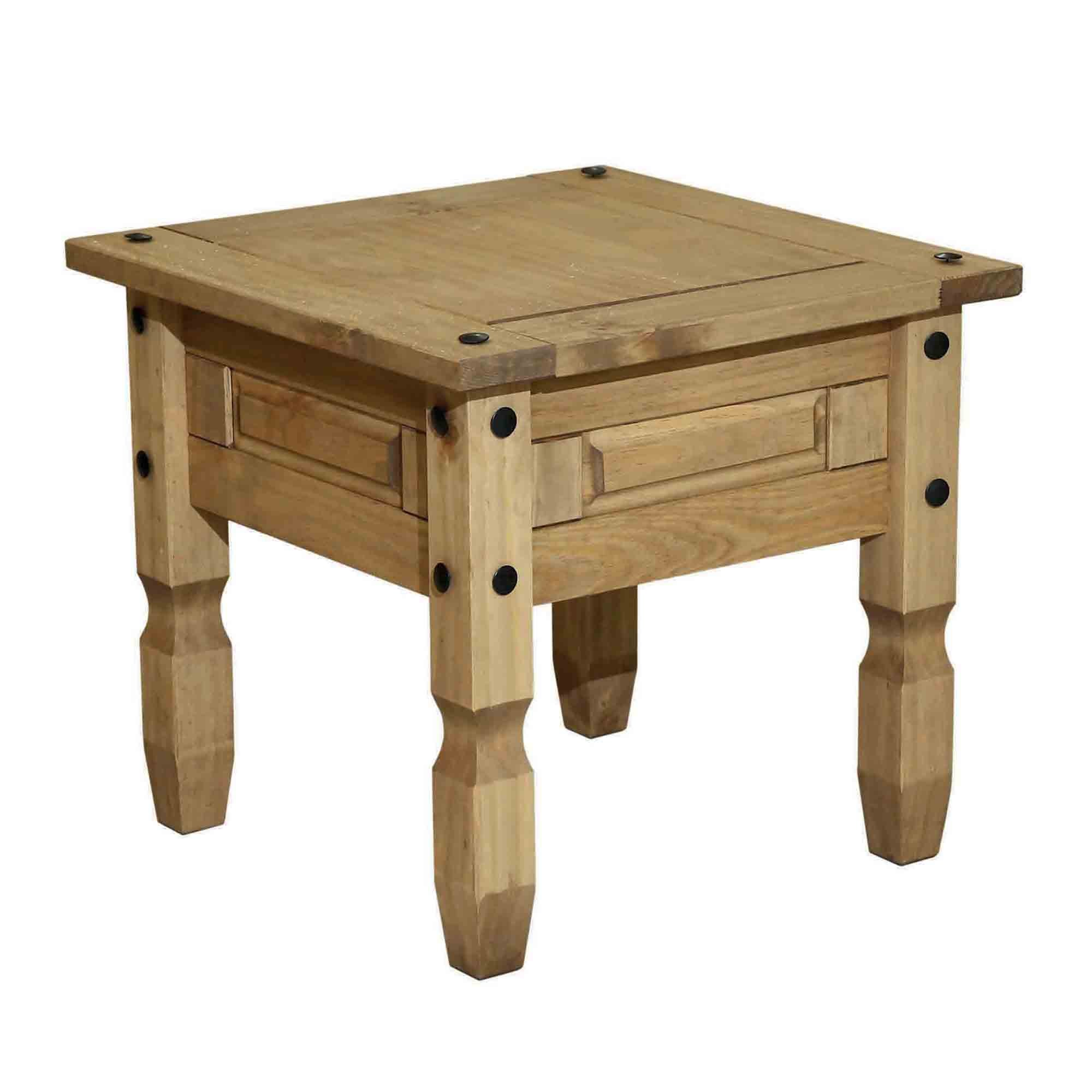 Santa Lucia Pine Lamp Table