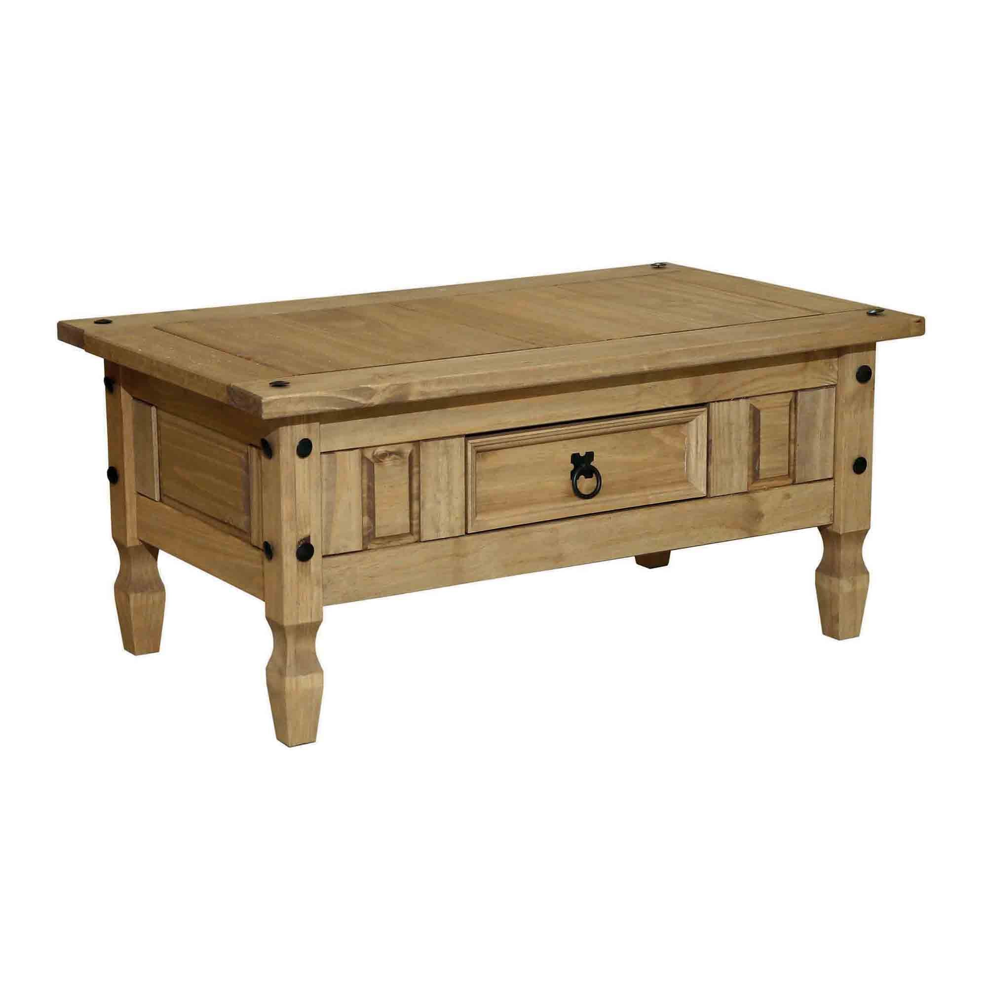 Santa Lucia Pine Coffee Table