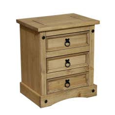 Santa Lucia 3 Drawer Bedside Chest