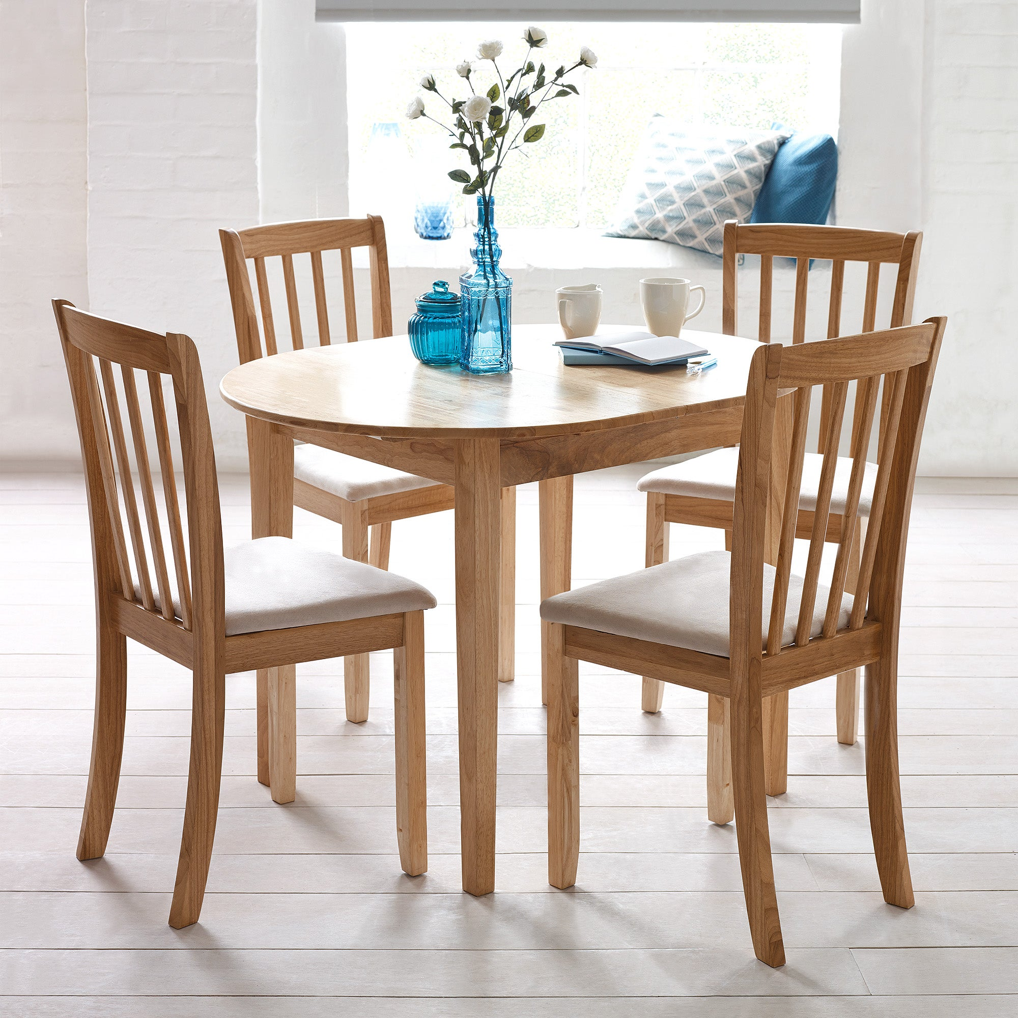 Newbury Dining Set Natural