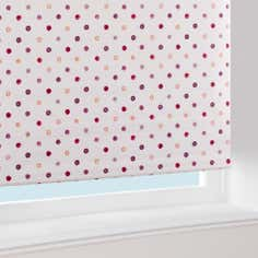 Red Country Spot Blackout Roller Blind