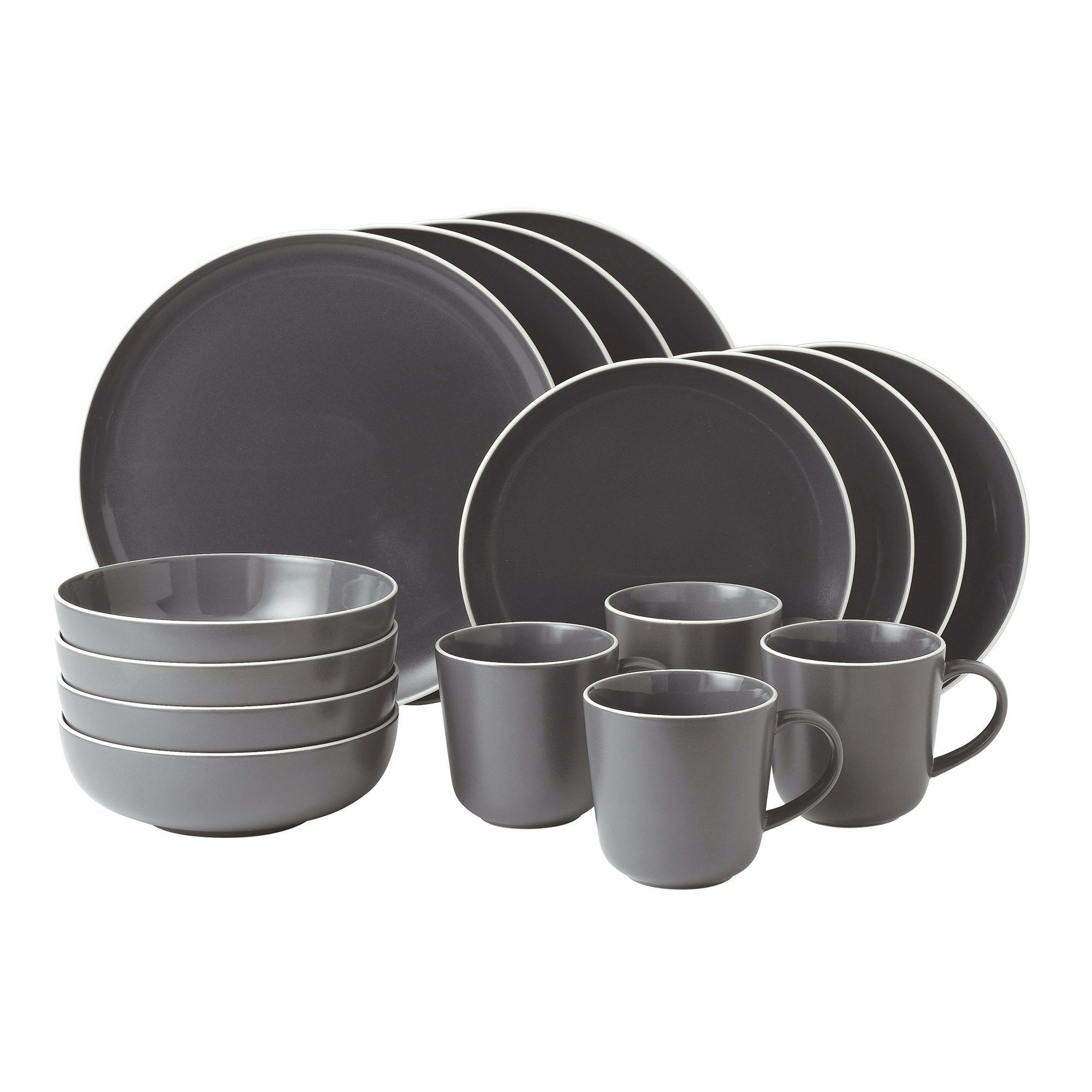 Gordon Ramsay Slate Bread Street Collection 16 Piece Dinner Set