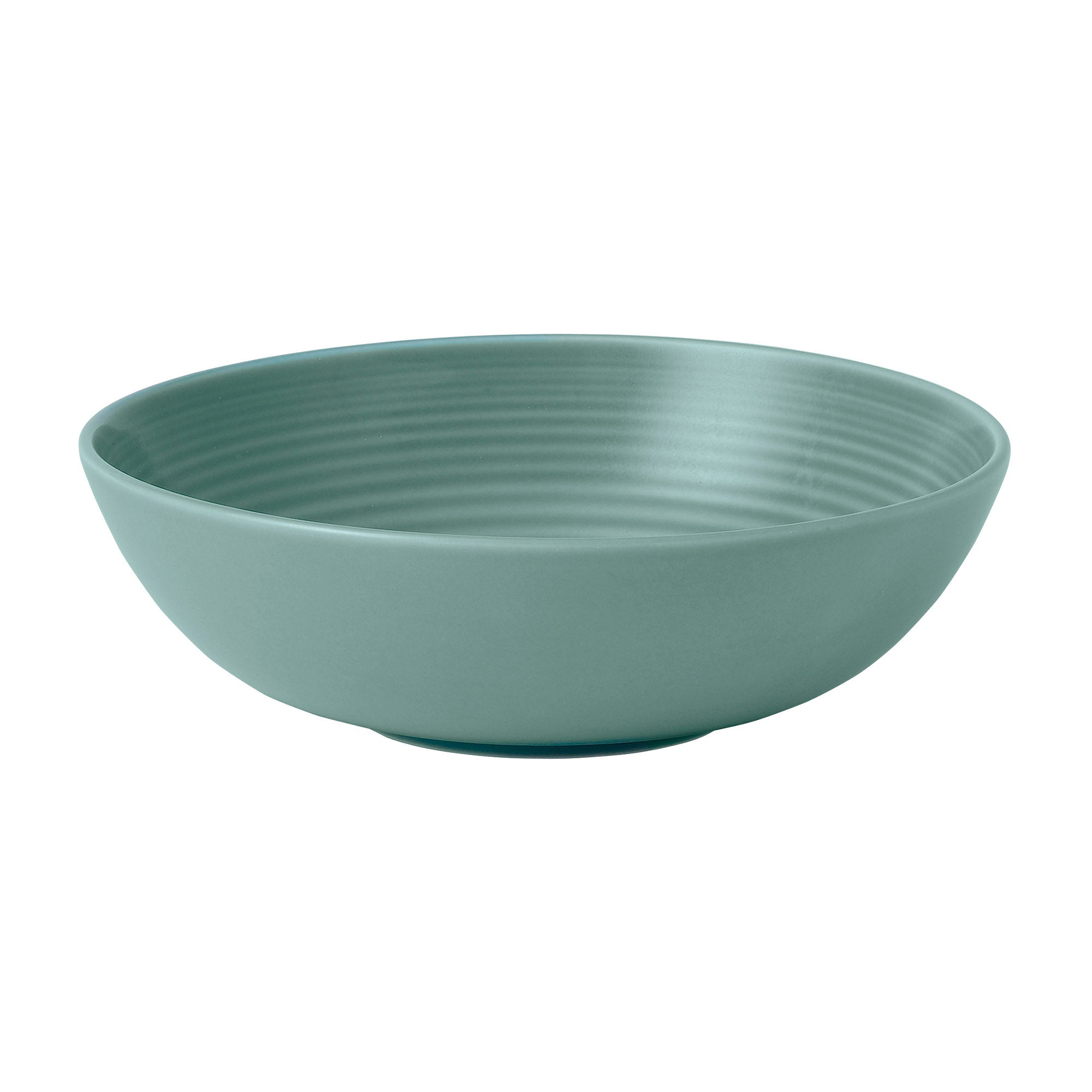 Teal Gordon Ramsay Maze Collection Cereal Bowl