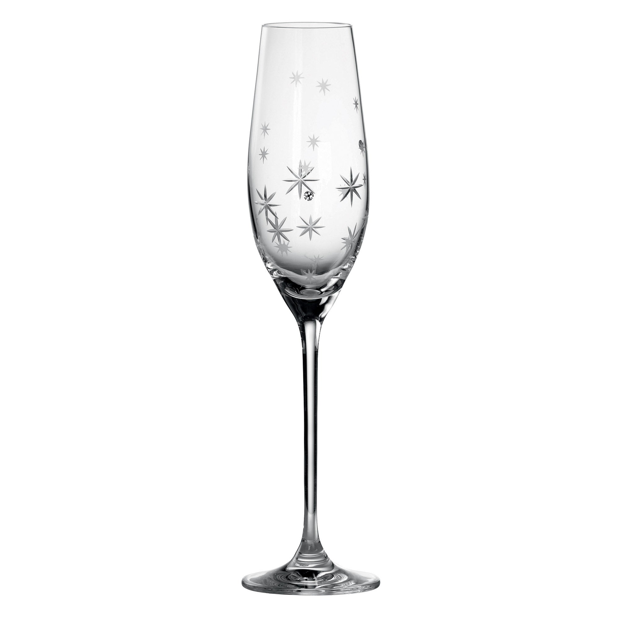 Royal Doulton Promises Twinkle Pair of Toasting Flutes